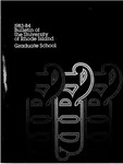 URI Graduate School Course Catalog 1983-1984 by University of Rhode Island