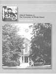 URI Graduate School Course Catalog 1986-1987 by University of Rhode Island