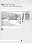 URI Undergraduate Course Catalog 1988-1989 by University of Rhode Island