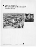 URI Graduate School Course Catalog 1988-1989 by University of Rhode Island