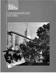 URI Undergraduate Course Catalog 1992-1993