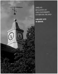 URI Graduate School Catalog 1992-1993 by University of Rhode Island