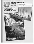URI Undergraduate Course Catalog 1994-1995 by University of Rhode Island