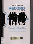 Freshman Record : The University of Rhode Island by The Interfraternity/Panhellenic Councils