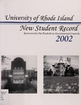 New Student Record : The University of Rhode Island by The Interfraternity/Panhellenic Councils