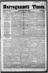 Narragansett Times (1/12/1856)