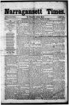 Narragansett Times (3/22/1856)