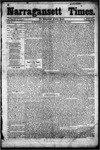 Narragansett Times (4/26/1856)