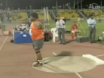 Video 2.2: Reese Hoffa of the U.S. throws the shot put at the 2009, Doha, Qatar, IAAF Qatar Athletic Super Grand Prix