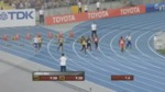 Video 9.1: False start in the 100 meter dash at the 2011 Track and Field World Championships