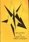 Bulletin of the Rhode Island Library Association, v. 41, no. 1