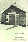 Bulletin of the Rhode Island Library Association v. 42, no. 2