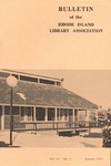 Bulletin of the Rhode Island Library Association v. 42, no. 3
