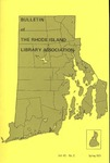 Bulletin of the Rhode Island Library Association v. 43, no. 2