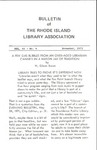 Bulletin of the Rhode Island Library Association v. 44, no. 4