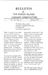Bulletin of the Rhode Island Library Association v. 44, no. 6
