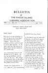 Bulletin of the Rhode Island Library Association v. 44, no. 10