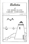Bulletin of the Rhode Island Library Association v. 45, no. 3