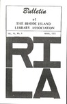 Bulletin of the Rhode Island Library Association v. 45, no. 6
