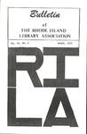 Bulletin of the Rhode Island Library Association v. 45, no. 6