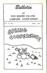 Bulletin of the Rhode Island Library Association v. 45, no. 7