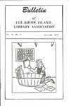 Bulletin of the Rhode Island Library Association v. 45, no. 8