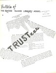 Bulletin of the Rhode Island Library Association v. 47, no. 1