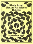 Bulletin of the Rhode Island Library Association v. 49, no. 2