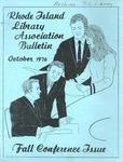 Bulletin of the Rhode Island Library Association v. 49, no. 3
