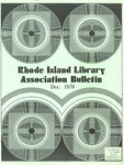 Bulletin of the Rhode Island Library Association v. 49, no. 5