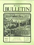 Bulletin of the Rhode Island Library Association v. 49, no. 9