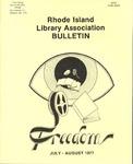 Bulletin of the Rhode Island Library Association v. 50, no. 1