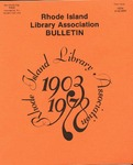 Bulletin of the Rhode Island Library Association v. 50, no. 3