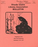 Bulletin of the Rhode Island Library Association v. 50, no. 4