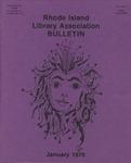Bulletin of the Rhode Island Library Association v. 50, no. 6