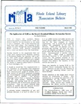 Bulletin of the Rhode Island Library Association v. 59, no. 3