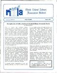 Bulletin of the Rhode Island Library Association v. 59, no. 3 by RILA
