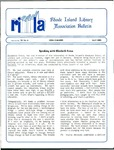 Bulletin of the Rhode Island Library Association v. 59, no. 4