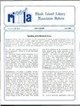 Bulletin of the Rhode Island Library Association v. 59, no. 4 by RILA