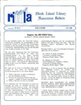 Bulletin of the Rhode Island Library Association v. 59, no. 6