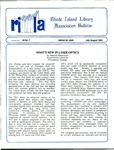 Bulletin of the Rhode Island Library Association v. 59, no. 7-8