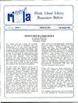 Bulletin of the Rhode Island Library Association v. 59, no. 7-8 by RILA