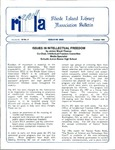 Bulletin of the Rhode Island Library Association v. 59, no. 10 (incorrect no. 8on newsletter)