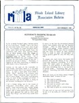 Bulletin of the Rhode Island Library Association v. 60, no. 7-8