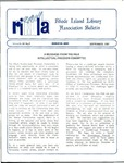 Bulletin of the Rhode Island Library Association v. 60, no. 9