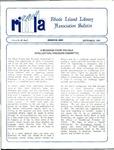 Bulletin of the Rhode Island Library Association v. 60, no. 9 by RILA