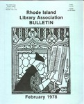 Bulletin of the Rhode Island Library Association v. 50, no. 7