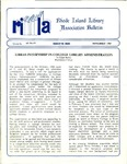 Bulletin of the Rhode Island Library Association v. 60, no.11