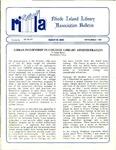 Bulletin of the Rhode Island Library Association v. 60, no.11 by RILA