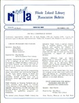 Bulletin of the Rhode Island Library Association v. 60, no.12